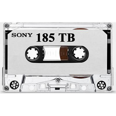 The Future of Data Storage, or Just a Really Long Cassette Tape?